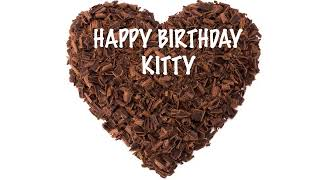 Kitty  Chocolate - Happy Birthday