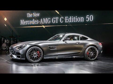 Mercedes E-Klasse Coupe und AMG GT C Edition 50 | NAIAS 2017 Detroit