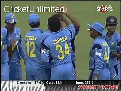 India vs Zimbabwe | 2003 World Cup | EXCLUSIVE