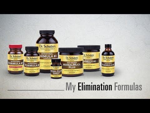 My Elimination Formulas by Dr. Schulze - Intestinal Formula, Bowel Flush