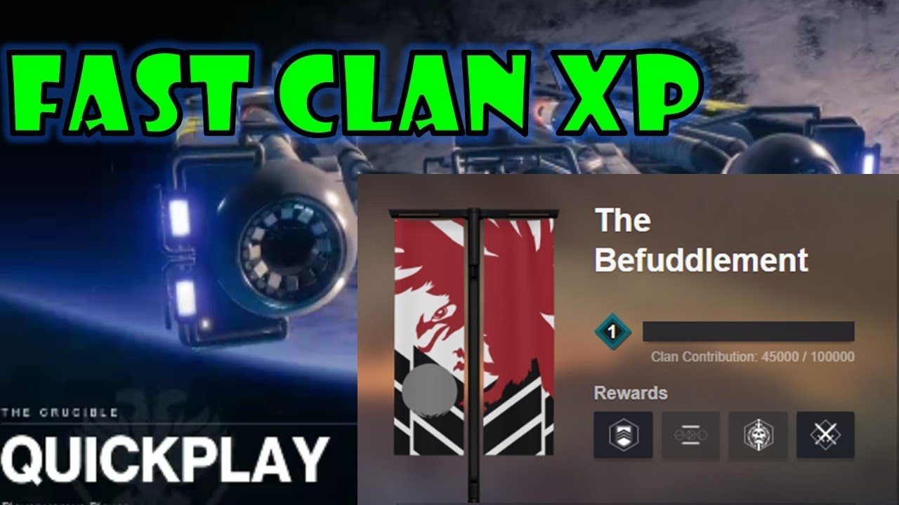 FASTEST WAY TO GAIN CLAN XP