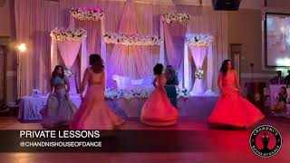 Sisters Perform For Brothers Reception | Punjabi Wedding Performance | Bollywood Wedding Dance|