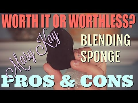 1393db7a778 NEW Mary Kay Sponge | Worth it or worthless ? | PROS & CONS - YouTube