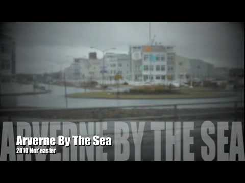 Arverne By The Sea Ravaged By Nor 39 Easter March 2010 Youtube