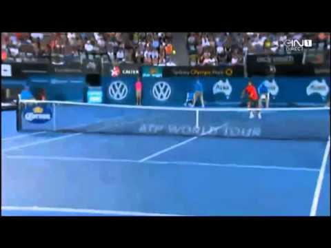 Juan Martin del Potro vs Bernard Tomic Apia International Sydney 2014 | TennisRepay | HD