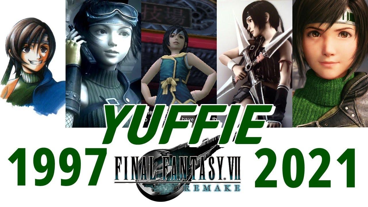 【원작부터 리메이크까지의 유피 5작품】FinalFantasy7 Yuffie (Evolution of Yuffie 1997-2020)