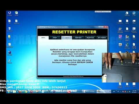 Canon Printer Reset | FunnyCat TV