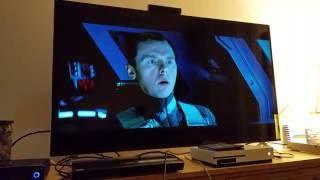 Star Trek into darkness: 4K UHD Blu-ray Samsung K-8500 v Xbox One S on Vizio M55-C2 4k tv