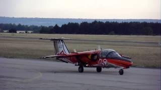 Take-off Mirage 2000  Passage Solo Display SAAB 105