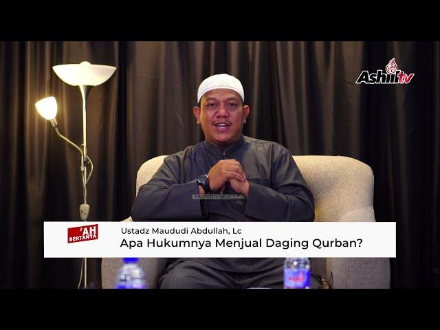 Apa Hukum Menjual Daging Qurban? - Jama'ah Bertanya Ustadz Menjawab