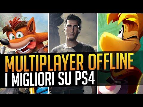 TOP 10 Giochi PS4 Con MULTIPLAYER Offline In Locale