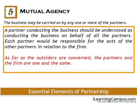 CHAPTER 6 Essential Elements of Partnership under the Indian Partnership Act, 1932
