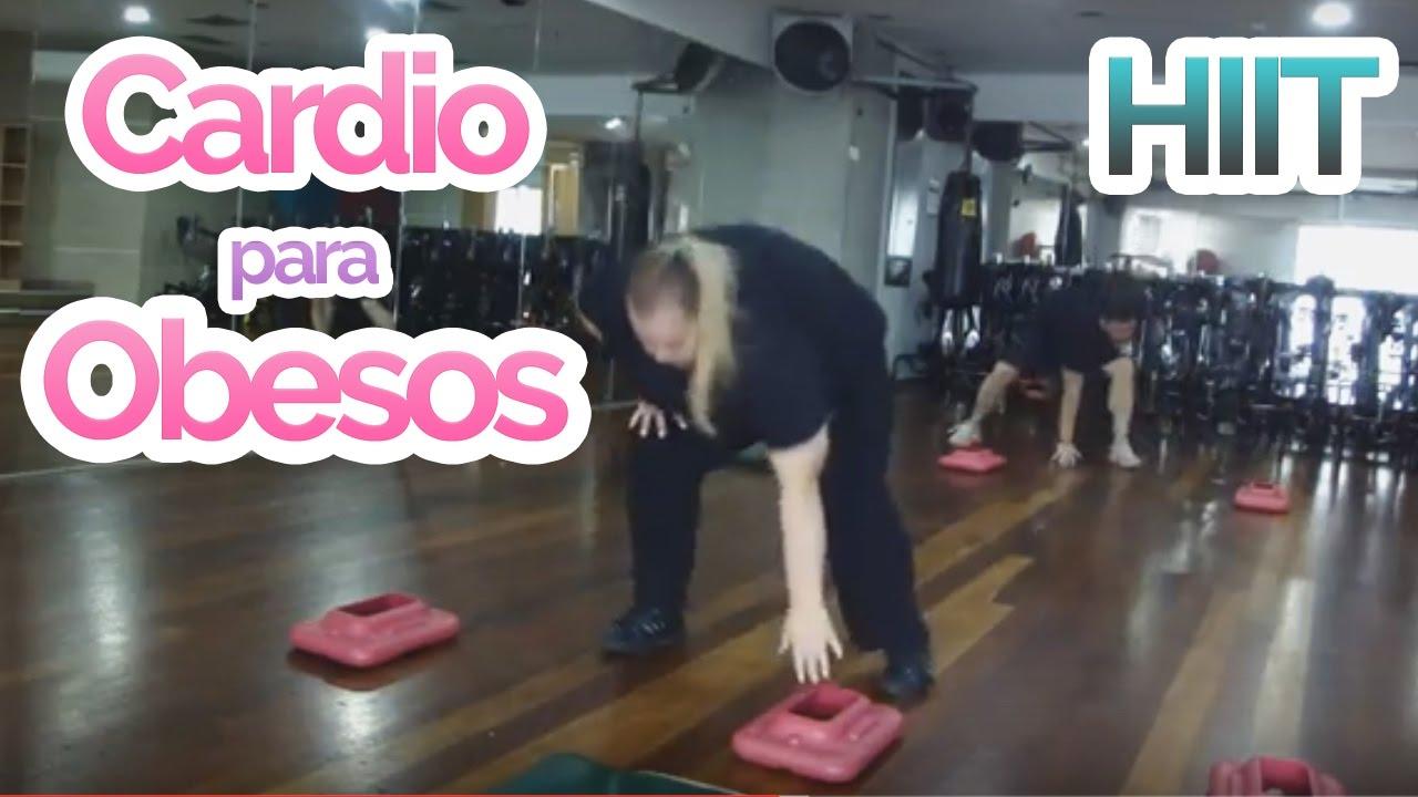 ejercicios funcionales para personas obesas