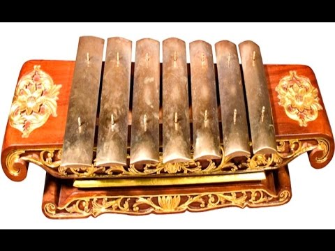 SARON MELODY - Sampak Slendro Manyuro - Learning Javanese Gamelan Music [HD]