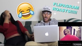 Couple Reacts : Funny Flipagram Roast Compilation Reaction!!!