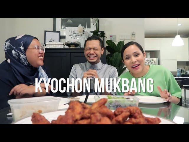 KyoChon Red Pepper MUKBANG - DON'T WATCH KALAU TAK TAHAN NAFSU! - MOTIF VIRAL OFF? feat HAZE & SYAPA