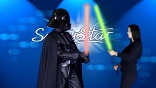 Darth Vader bei DSDS - Deutschland sucht den Superstar Parodie