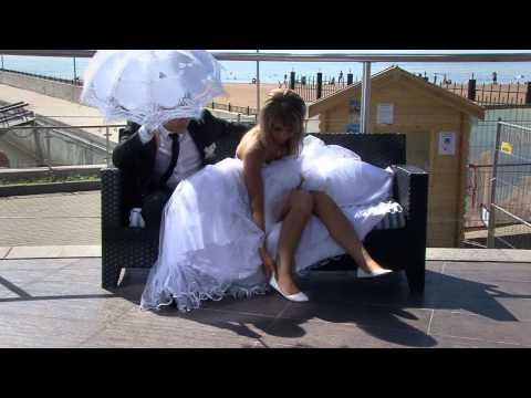 Свадебный клип- Белое...