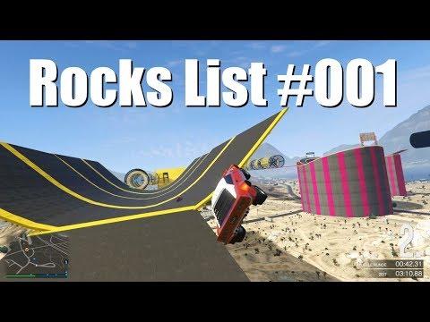 "GTA V Online - Stunt Race #038 lets play ""Rocks List #001"""