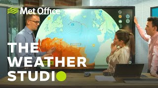 Hurricane Lorenzo will it affect the UK?- The Weather Studio Live 01/10/19