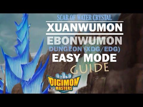 [GDMO] Scar of Water Crystal Easy Mode Guide - Xuanwumon/Ebonwumon Dungeon (XDG/EDG)