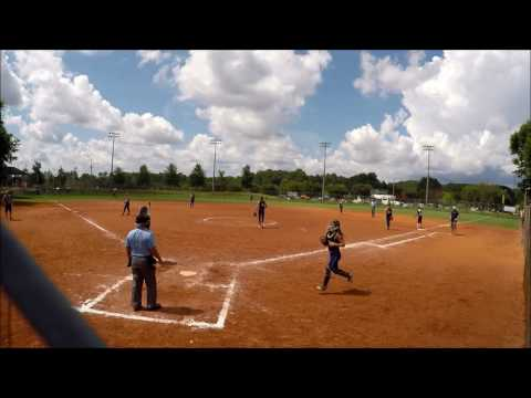 Ohio Lasers White (Indiana Gators) vs Team NC - Louisville Slugger @  ATL Legacy 07/13/2017