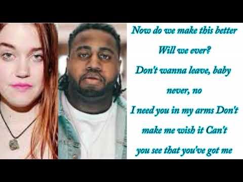 Anna Wise Feat. Xavier Omär - Easy (Lyrics On Screen)