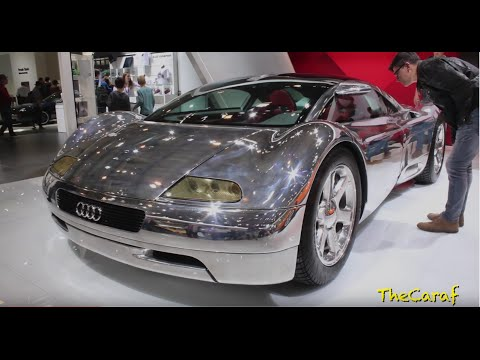 1991 Audi AVUS Quattro W12! The Chrome dream Concept!