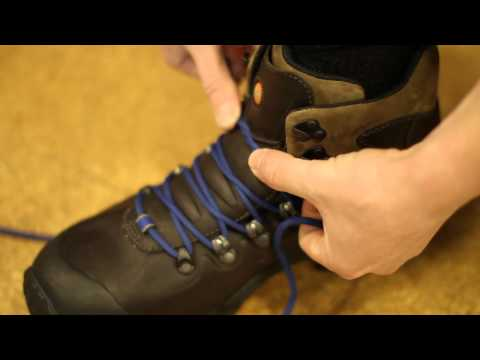 Lacing Technique - Surgeons Knot - Eastern Mountain Sports
