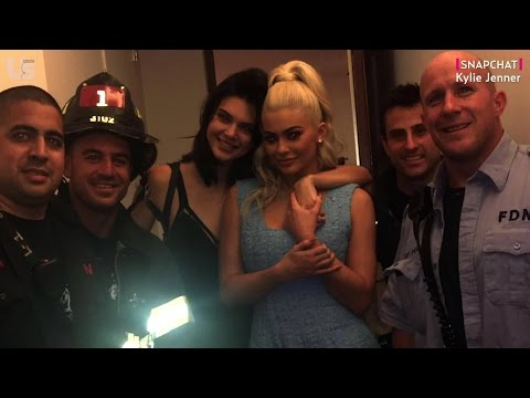 Kendall and Kylie Jenner Rescued by Hot Firefighters After Getting Stuck in an Elevator
