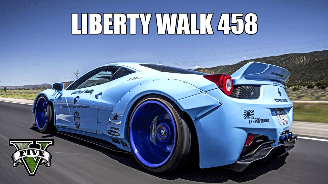 Ferrari 458 Italia Liberty Walk Gta V Mod Showcase