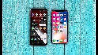 Galaxy S9+ или iPhone X \ Что купить?