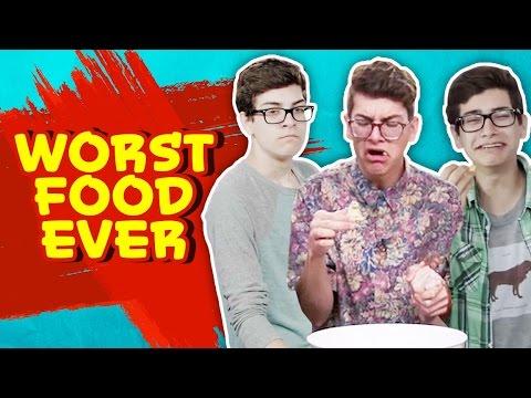 NOAH'S TOP 5 WORST FOODS EVER