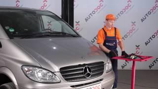 Montáž přední a zadní List stěrače MERCEDES-BENZ VITO Bus (W639): video zdarma