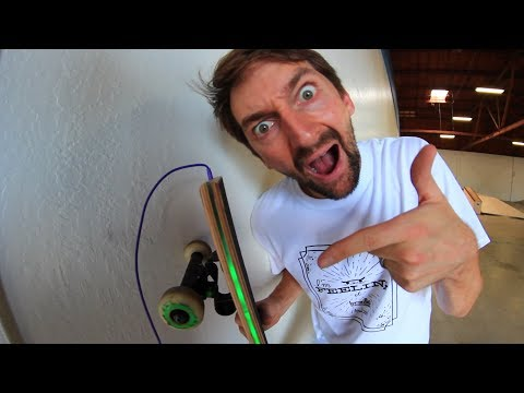 Thumbnail: A SKATEBOARD YOU CAN PLUG IN!