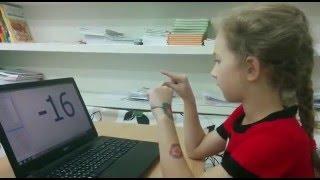 Полина (7 лет) считает на ментальном уровне(Приглашаем Вас на 2х дневные семинары по ментальной арифметики в Центр Ментальной арифметики