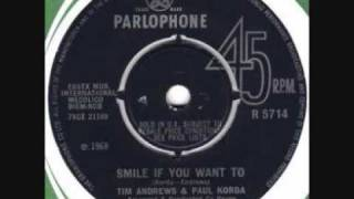 Tim Andrews & Paul Korda - Smile If You Want To (1968)