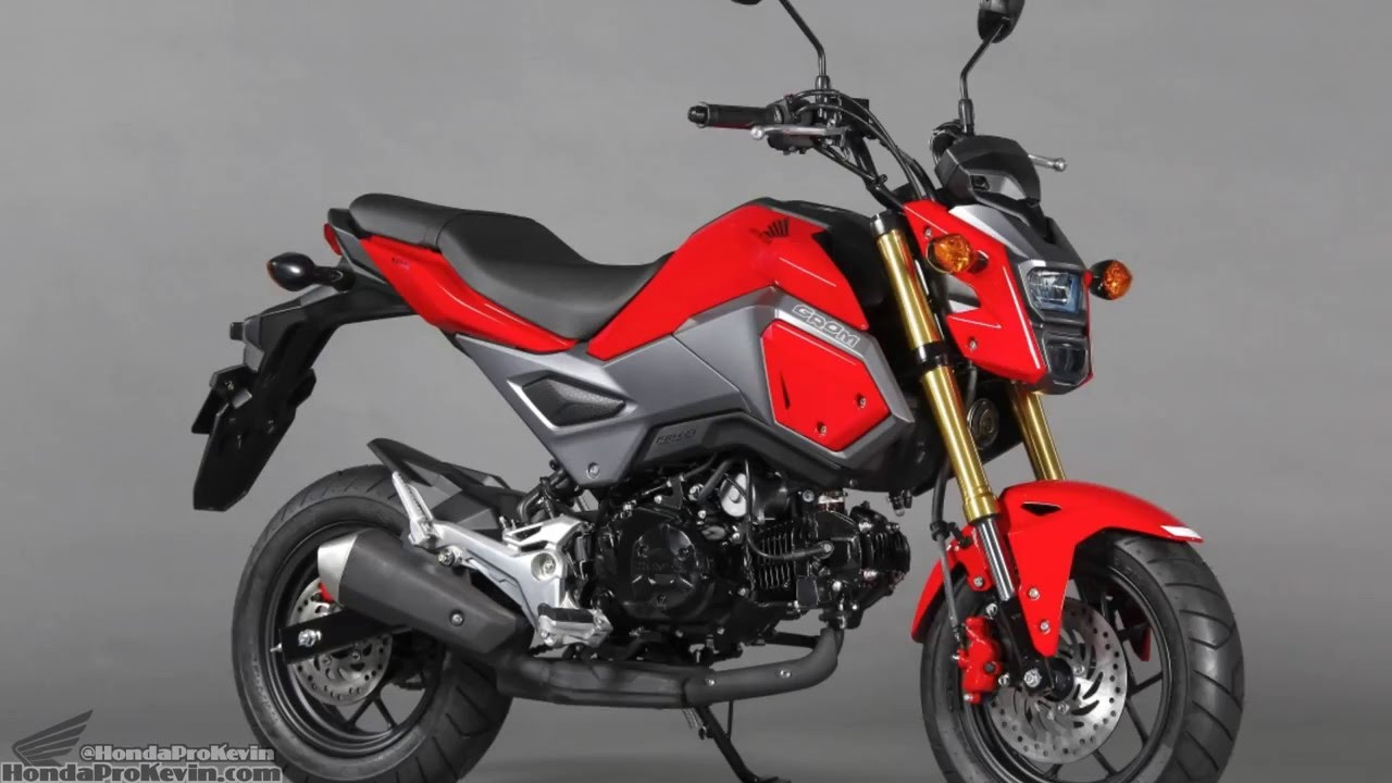 2017 honda grom 125 motorcycle changes specs review. Black Bedroom Furniture Sets. Home Design Ideas