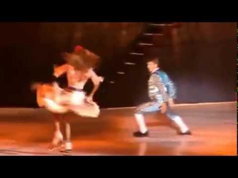 Олимпийские чемпионы Татьяна Навка и Алексей Ягудин в мюзикле Ильи Авербуха Кармен