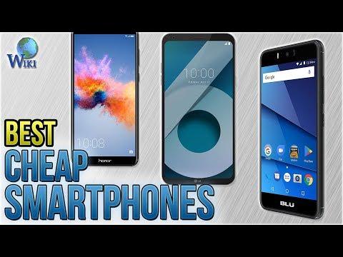 10 Best Cheap Smartphones 2018