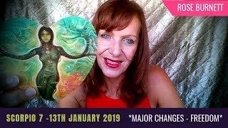 Scorpio 7 - 13 January 2019 *Major Changes - Freedom*