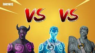 Fortnite: *NEW* FALLEN LOVE RANGER VS FROZEN LOVE RANGER VS LOVE RANGER! (Skin Comparison)