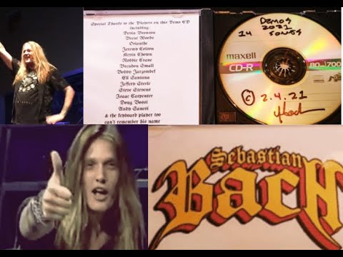 Sebastian Bach update on new solo album tons of guests and 14 tracks being readied!