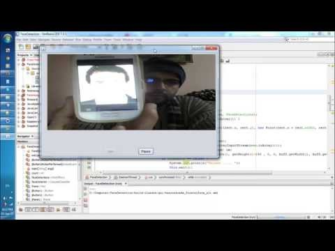 Real Time Face Detection using OpenCV with Java