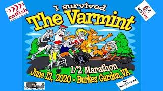 2020 Varmint Half Marathon! Social distancing style