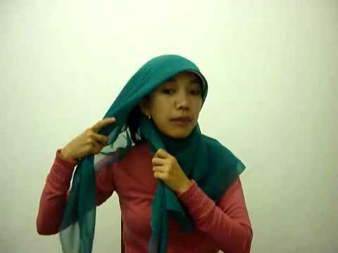 tutorial hijab style dian pelangi # tutorial hijab pashmina sifon ...