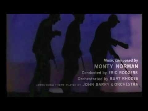 Dr. No, by Terence Young (1962) - Opening  credits
