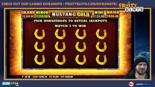 Online Slots Bonus Compilation inc Mustang Gold, The Wiz, Holy Diver & more...
