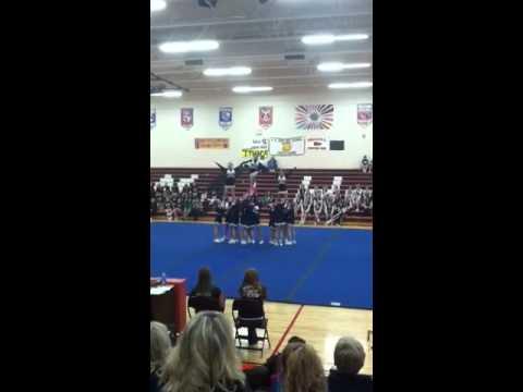 Ithaca middle school cheer
