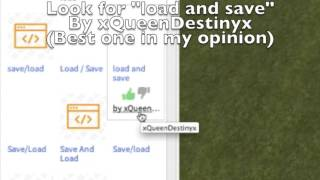"[ROBLOX] How to add ""Save/Load"" GUI to your game! [Easy]"